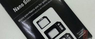 ドコモのiPhone6 PlusのナノSIMカードを変換アダプタ使ってNexus5のマイクロSIMに差し替えてみた