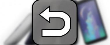 Androidスマホの通知バーに指が届かないときは「戻るボタン」アプリが便利