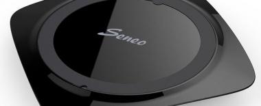 SeneoのQi対応ワイヤレス充電器(UFO型)のレビュー。コンパクトで性能は問題ないが少し気になる点も