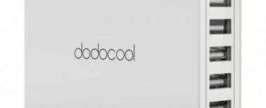 dodocoolの5ポートUSB充電器をレビュー!旅行に持っていくと便利【PR】
