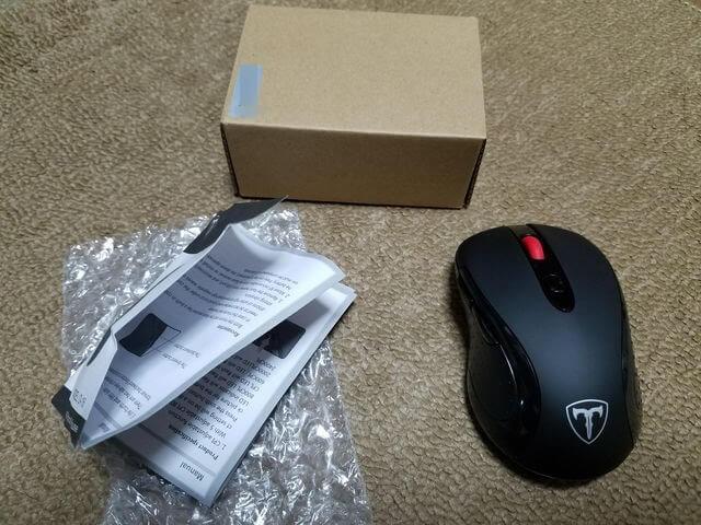 Qtuo 2400DPI ワイヤレスマウス
