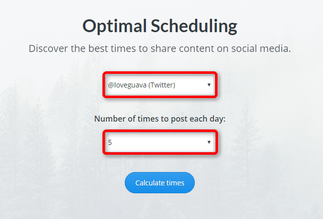 Buffer Optimal Scheduling